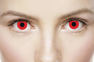 Adults Blood Red Fancy Dress Eye Wear