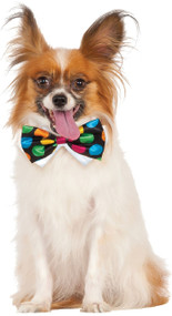 Dog Polka Dot Bow Tie Fancy Dress Accessory
