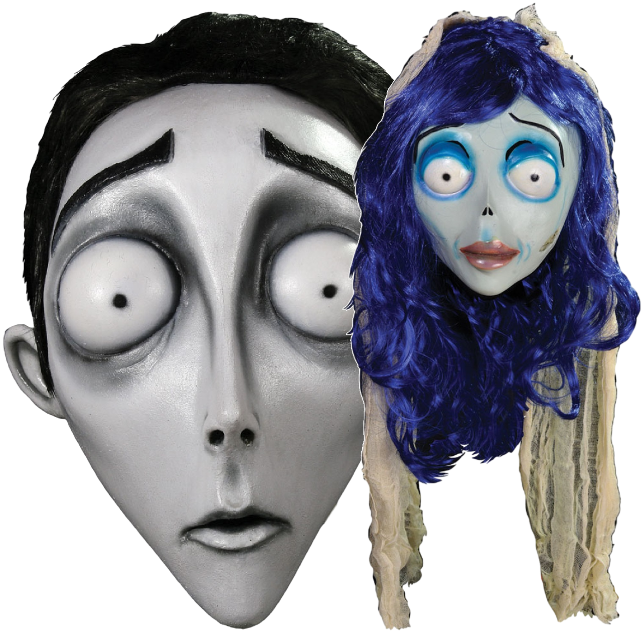 1c389847815d Couples Cosplay Corpse Bride Fancy Dress Masks - Fancy Me Limited