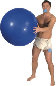 Adult Big Baby Fancy Dress Kit