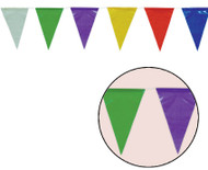 Multi Coloured Extra Long 50 Meter Bunting Party Decoration