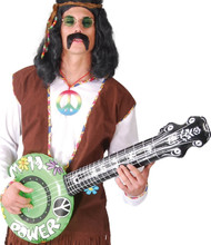 Inflatable Banjo Fancy Dress Accessory