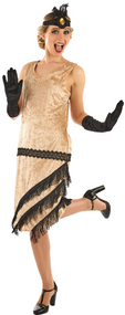 Ladies 1920s Charleston Fancy Dress Costume