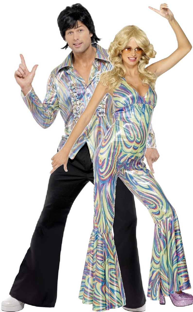 couples 70s disco fancy dress costume  fancy me limited