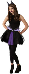 Teen Maleficent Fancy Dress Costume Kit