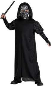 Boys Death Eater Fancy Dress Costume