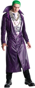 Mens Suicide Squad Joker Fancy Dress Costume
