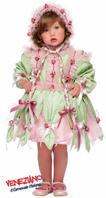 Girls Deluxe Flower Fairy Fancy Dress Costume