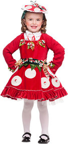 Baby Girls Toadstool Fancy Dress Costume