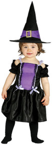 Baby Violet Witch Fancy Dress Costume