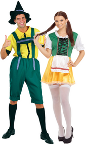 Couples Oktoberfest Fancy Dress Costumes 2