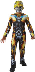 Child's  Bumblebee The Last Knight Fancy Dress Costume