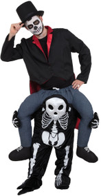 Adults Ride On Skeleton Fancy Dress Costume