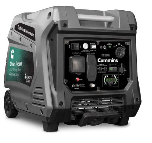 Cummins Onan P4500i 3700W Portable Inverter Generator