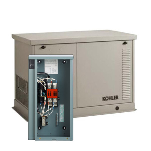 Kohler 20RESDL-200SELS 20kW Generator with Aluminum Enclosure and 200A SE Transfer Switch