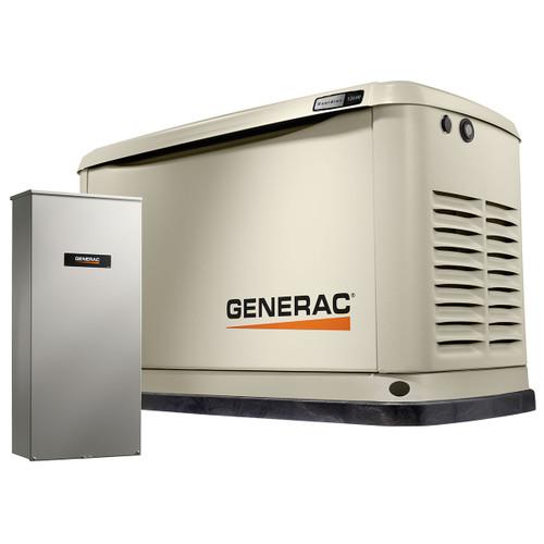 Generac 7175 13kW Guardian Generator with Wi-Fi & 200A SE Transfer Switch