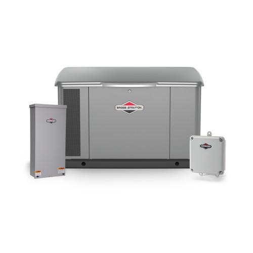 Briggs & Stratton 40636 20kW Generator with Aluminum Enclosure & 150A SE Transfer Switch Bundle