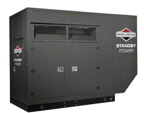 Briggs & Stratton 80010 100kW 1ph-120/240V NG Generator