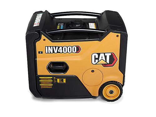 CAT INV4000E 3200W Electric Start Portable Inverter Generator with Cat CO DEFENSE