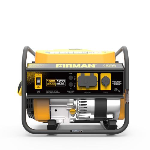 Firman P01202 1200W Portable Generator
