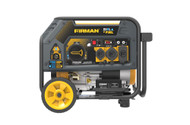 Firman H03651 3650W Electric Start Dual Fuel Portable Generator