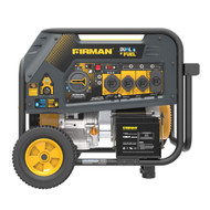 Firman H08051 8000W Electric Start Dual Fuel Portable Generator