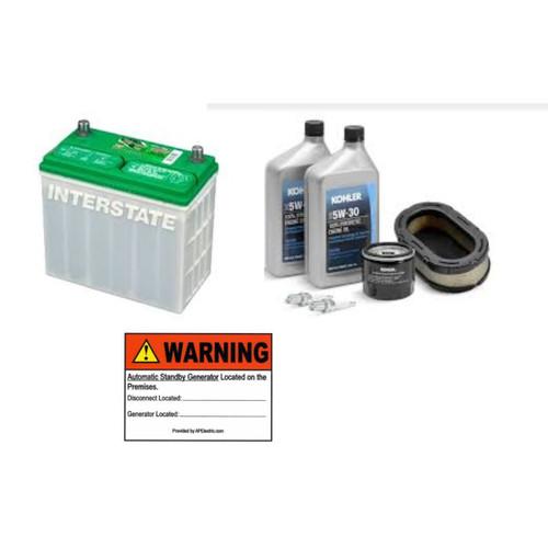 Basic Starter Package for Kohler 12RESV(L)