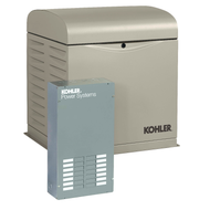 Kohler 10RESVL-100LC12 10kW Generator with 100A 12-circuit Transfer Switch