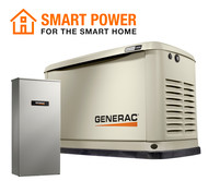 Generac 7225 14kW Guardian Generator with Wi-Fi & 200A SE Transfer Switch