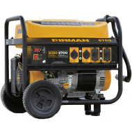 Firman P06701 6700W Portable Generator with Wheel Kit