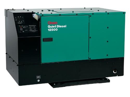 mins Onan 10HDKCA-11506 QD 10000W Diesel RV Generator Onan Transfer Switch Wiring Diagram To on