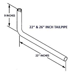 Cummins Onan 155-3481-01 22 Exhaust Tube Kit