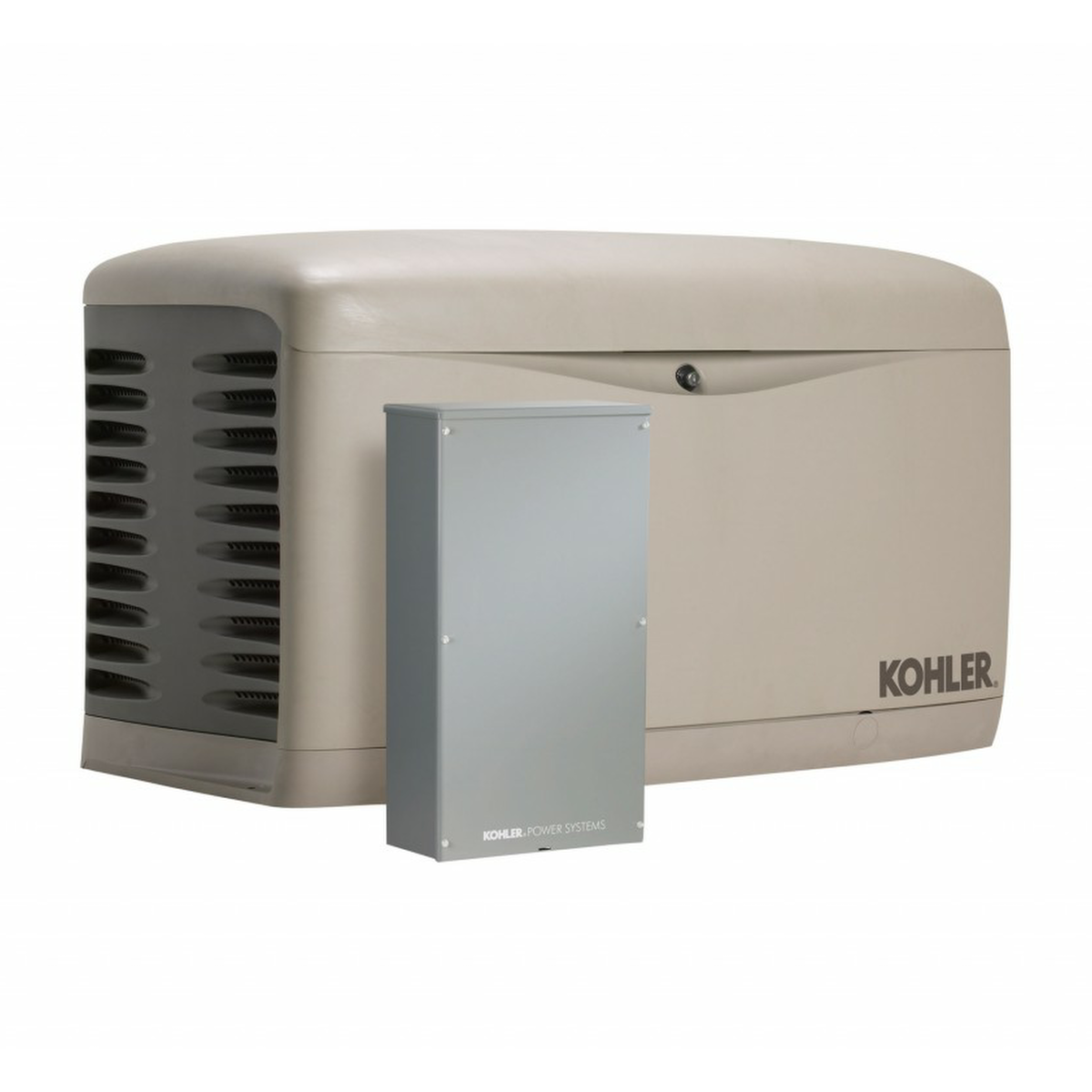 Kohler 20RESAL 100LC16 20kW Generator With 100A 16 Circuit Transfer Switch