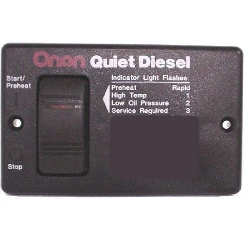 Cummins Onan 300-4942 Basic Remote Start Panel