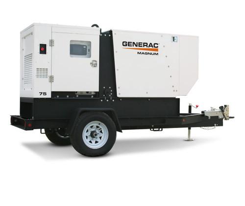 Generac MDG75DF4 56/62kW Mobile Diesel Generator with John Deere Engine