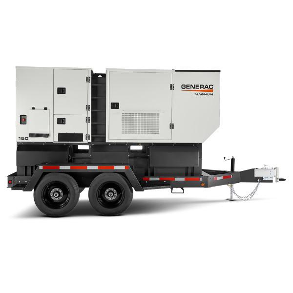 Generac MDG150DF4 108/120kW Mobile Diesel Generator with John Deere Engine