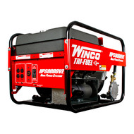Winco HPS9000VE 8000W Electric Start Portable Tri-Fuel Generator