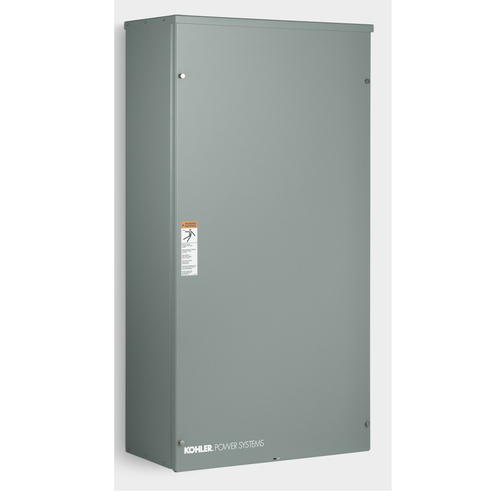 Kohler RDT-CFNC-0200B 200A 1Ø-120/240V Nema 3R Automatic Transfer Switch with 24-circuit Load Center