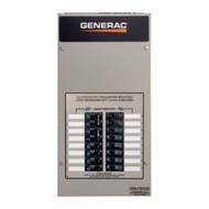 Generac RXG10EZA1 50A 1Ø-120/240V Nema 1 Automatic Transfer Switch with 10-circuit Load Center