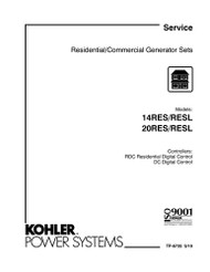 Kohler TP-6735 Service Diagnostics Manual