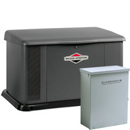 Briggs & Stratton 40554 17kW Generator with 100A SE Transfer Switch