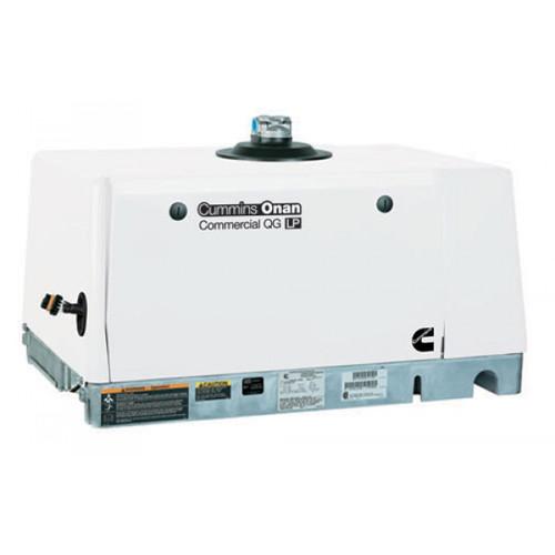 Cummins Onan Commercial Series QG5500 5.5kW Gasoline Mobile Generator (120 Volt Only)