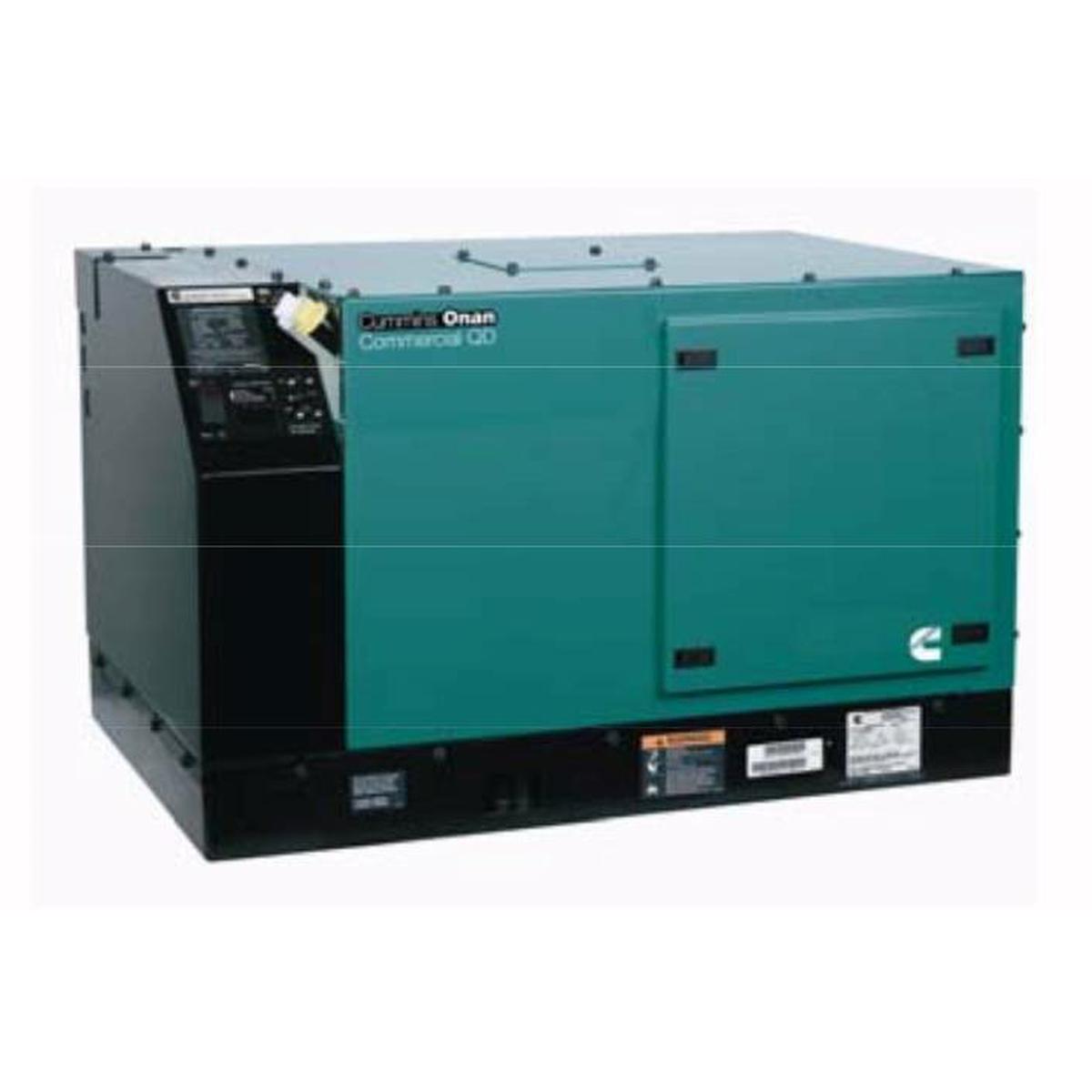 Cummins Onan Commercial Series QD8000 8kW Diesel Mobile Generator (120 Volt  Only)