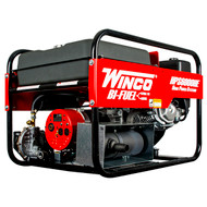 Winco HPS6000HE 5500W Electric Start Portable Bi-Fuel Generator