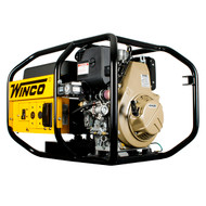 Winco W6010DE 5160W Electric Start Portable Diesel Generator