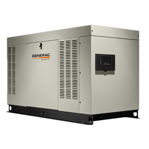 Generac RG04845C Protector QS Series 48kW Generator (SCAQMD Compliant)