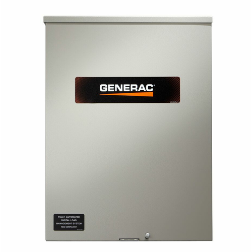 Generac RXSW100A3 100A 1Ø-120/240V Service Rated Nema 3R Automatic Transfer Switch