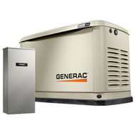 Generac Guardian 7037 16kW Generator with Wi-Fi &  200A SE Transfer Switch