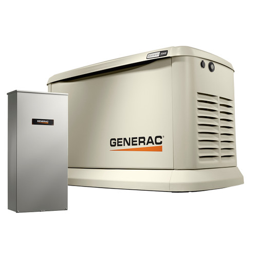 Generac Guardian 7043 22kW Generator with 200A SE Transfer Switch