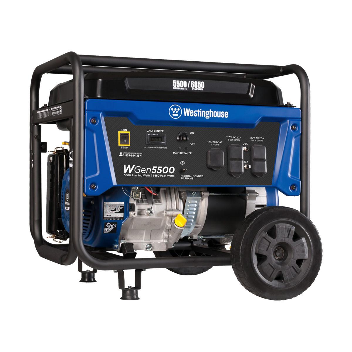 Westinghouse WGen5500 5500W Portable Generator